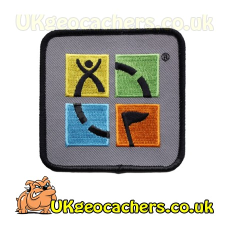 Geocaching Patch - Four Colour