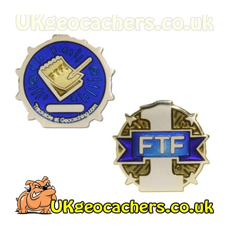 First to Find FTF Micro Geocoin - Gold
