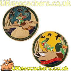 Limited Edition Signal Duck Tour Geocoin