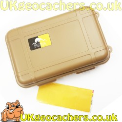 Small Tan Geocache