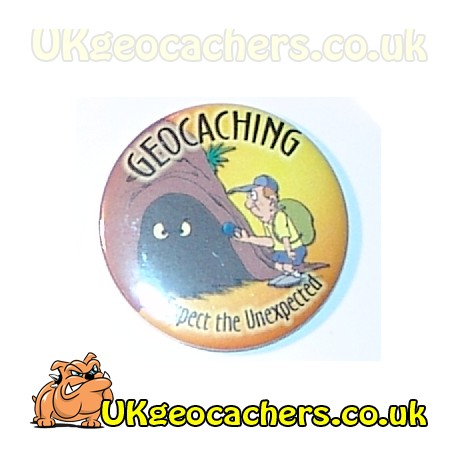 Expect The Unexpected 25mm Button Badge