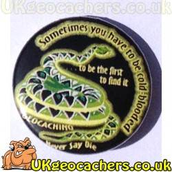 Never Say Die FTF 25mm Button Badge