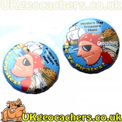 Be Ye Pirates 25mm Button Badge