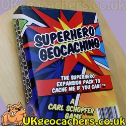 Superhero Geocaching - Expansion to Cache Me If You Can