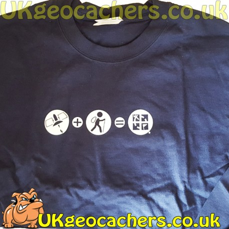 Tech + Nature - Geocaching Navy Top