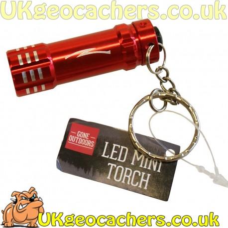 LED Mini Torch - Red