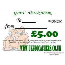 Gift Voucher - £5.00 Value