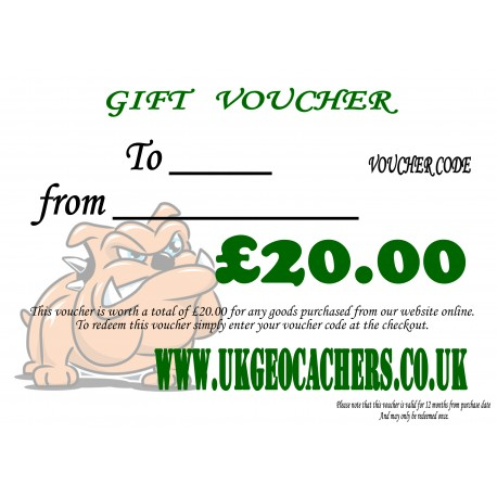 Gift Voucher - £20.00 Value