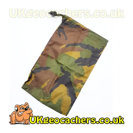 Small Camo Cache Bag - Web-tex