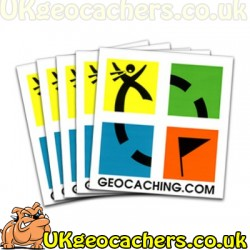 Retro Edition - Geocaching tattoos - 10 Pack