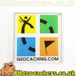 Geocaching Logo Fridge Magnet