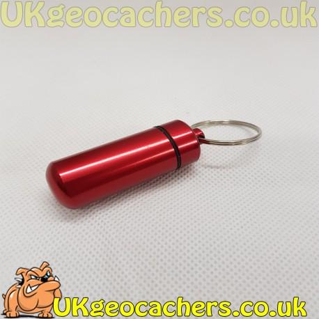 Aluminium Micro Cache - Red
