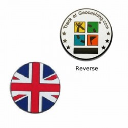 Country Micro Geocoin - UK