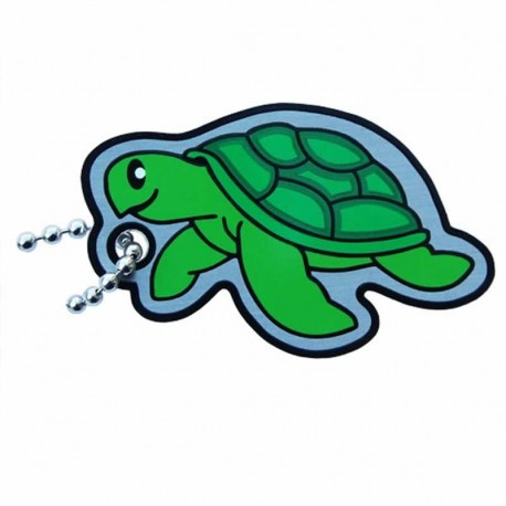 Sea Turtle Cachekinz Tag