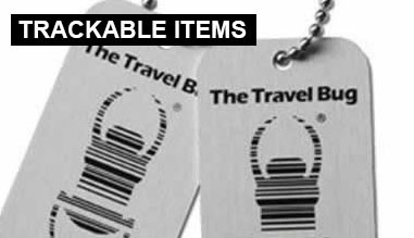 Trackable items