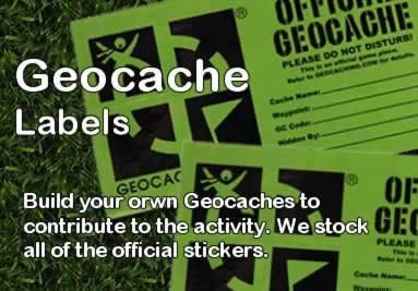 Geocache Labels to help you label your caches correctly