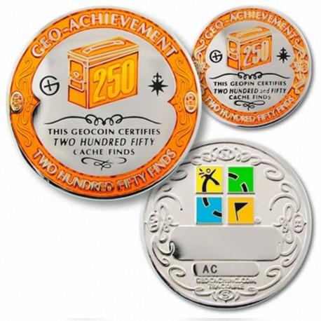 250 Finds Geo-Achievement Coin Set