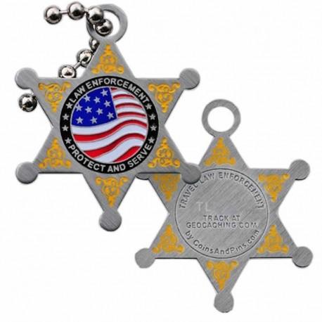 Law Enforcement Trackable Tag