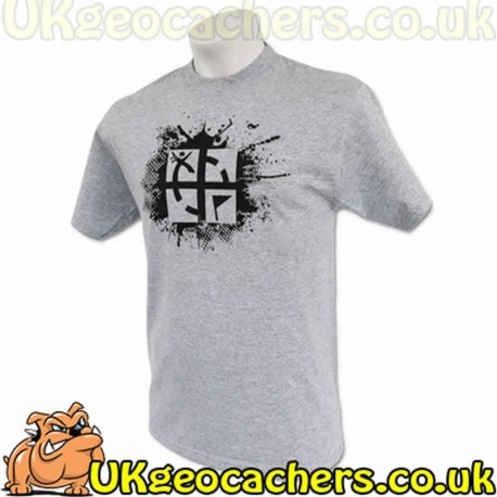 Adult Small Cache Attack T-Shirt - Grey