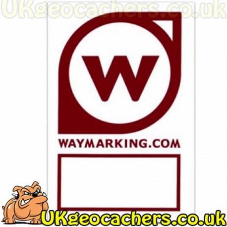 Waymarking.com Sticker