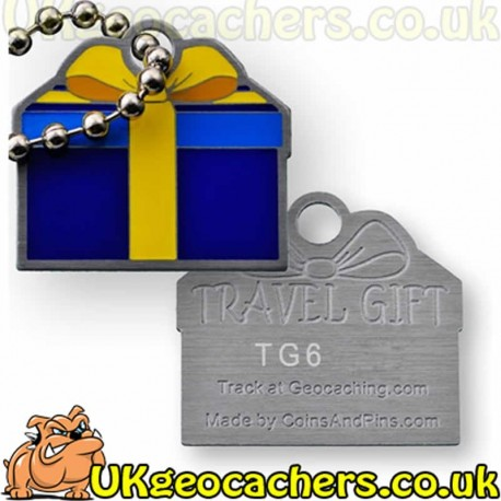 Travel Gift Tag - Blue