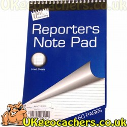 160 Page Lined Note Pad
