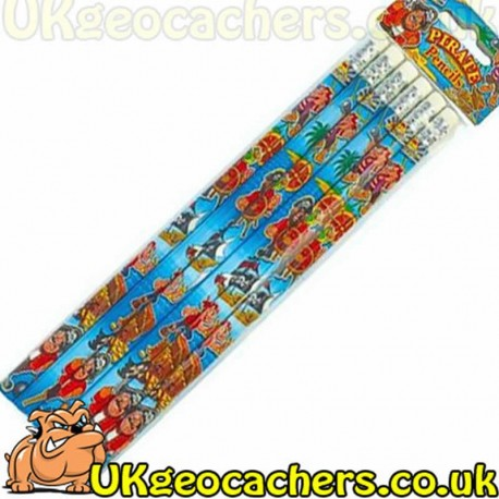 6 pack of Pirate Pencils
