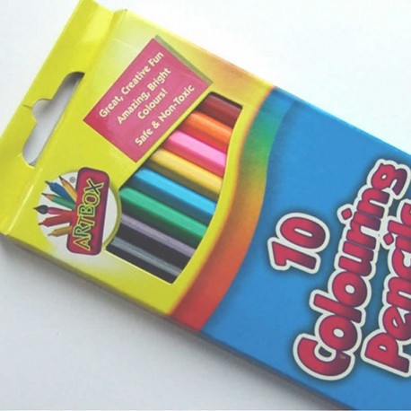 10 Pack of Colouring Pencils