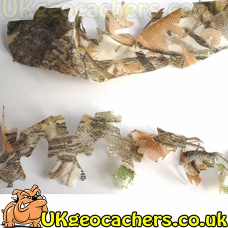 Ghillie Camo Material Strips