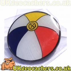 Beach Ball Geopin