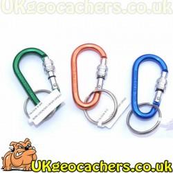Bison Designs 6cm Small Locking Carabiner