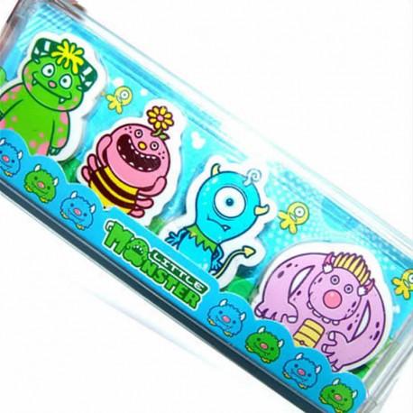 Monster Eraser Set
