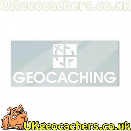 Geocaching Window Cling