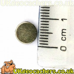 Adhesive Backed Rare Earth Magnet 8mm - South