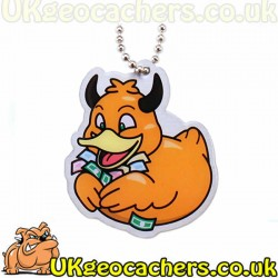 Official Deadly Duck Trackable Tag- Greed