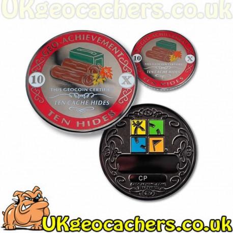 10 Hides Geo-Achievement® Award Coin Set