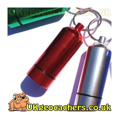 Aluminium Micro Geocache - Red
