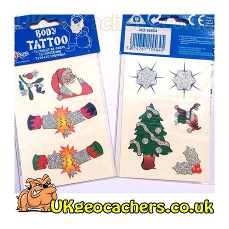 Christmas Tattoos 9pk