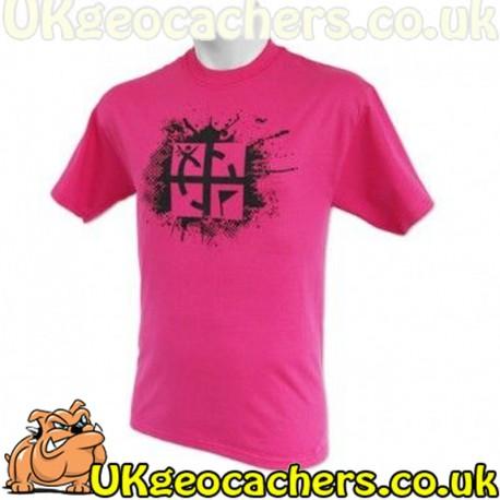 XXL Cache Attack T-Shirt - Pink
