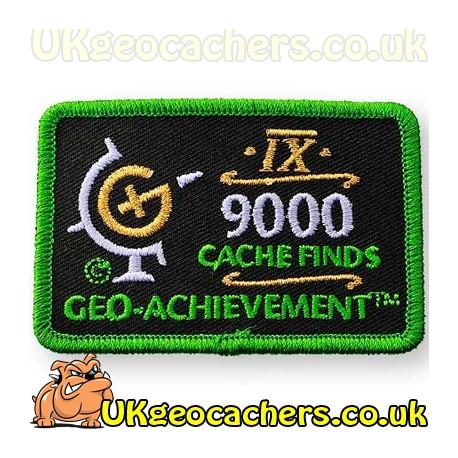9000 Finds Achievement Patch