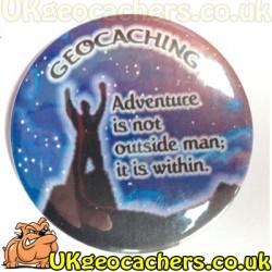 Geocaching Adventure Fridge Magnet
