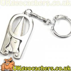 Folding Scissor Keyrings