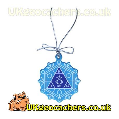 Trackable Snowflake Ornament - Mission GC