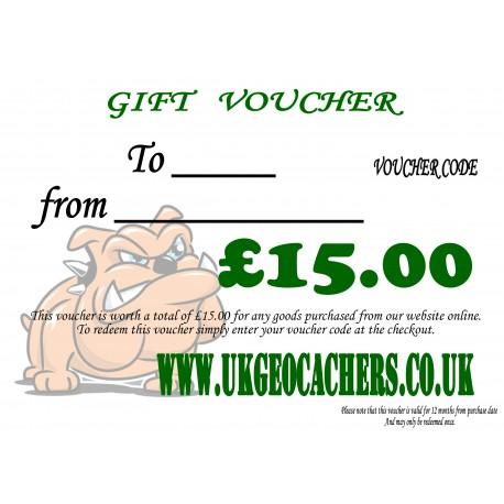 Gift Voucher - £15.00 Value