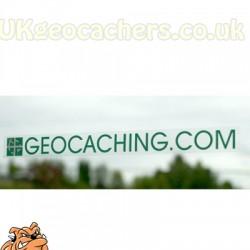 Geocaching.com Window Cling