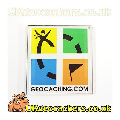 Geocaching Logo Fridge Magnet