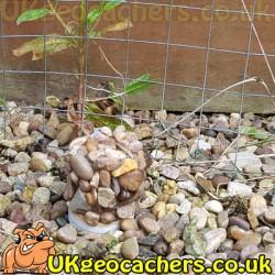 Gravel Micro Geocache