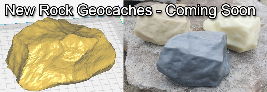 New Rock Geocaches coming soon