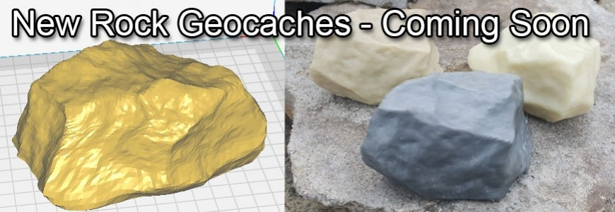 New Range Of Rock Geocaches - Coming Soon