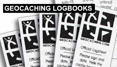 Geocaching Logbooks